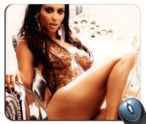 Sale alerts for Custom Images Custom Kim Kardashian 1 Mouse Pad g4215 - Covvet