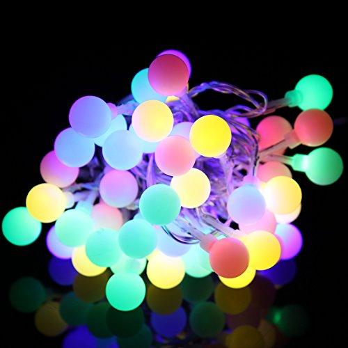 CATENA LANTERNE GHIRLANDA LANTERNE CATENA LAMPIONI LED 15 M CON 50 LED