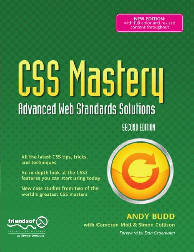 CSS Mastery: Advanced Web Standards Solutions (Black...