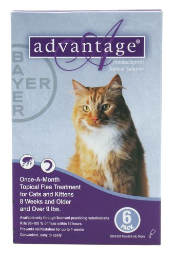 Advantage Topical Solution Flea Treatment For Cats Over 9