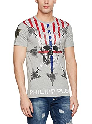 Philipp Plein Camiseta Manga Corta (Gris)