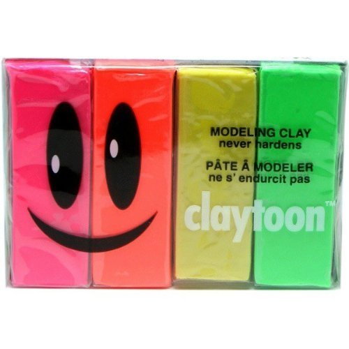 Claytoon Set Neon Colors 18152