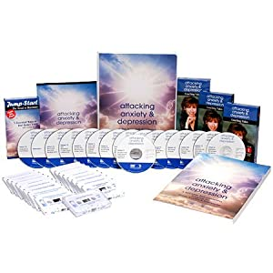 Lucinda Bassett's Attacking Anxiety & Depression Cd DVD