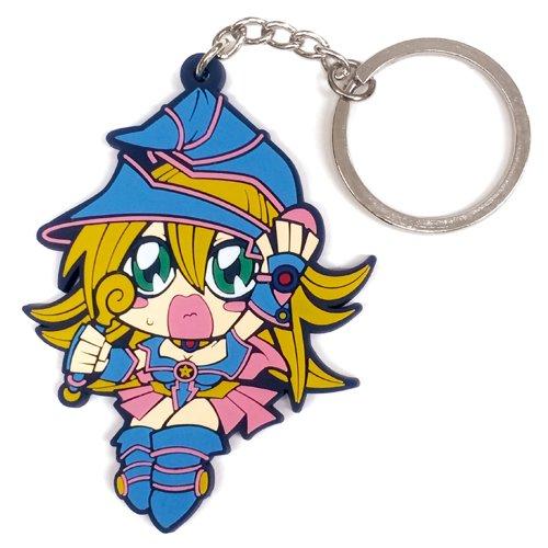 COSPA Yu-Gi-Oh! Dark Magician Girl Tsumamare Key Ring - 1