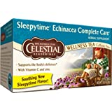 Celestial Seasonings Sleepytime Echinacea Complete Care, 20-Count Tea Bags (Pack of 6) ~ Celestial Seasonings