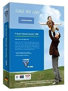 F-Secure Internet Security 2008 3er