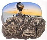 Norway North Cape Midnight Sun EuropeMagnet Souvenir Thailand Handmade Design