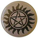 Anti Possession Symbol (Supernatural) 1.25 Inch Pin Back Button