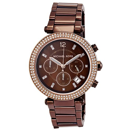 Michael Kors Parker Chronograph Chocolate Dial