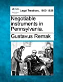ISBN 9781240078752 product image for Negotiable instruments in Pennsylvania. | upcitemdb.com