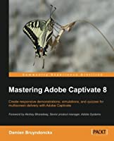 Mastering Adobe Captivate 8 Front Cover