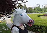 Signstek Horror Magical Unicorn Head Mask Scary Halloween Cosplay Party Costume