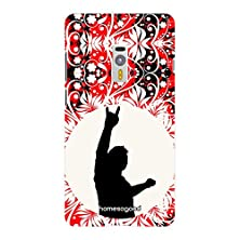 buy Homesogood Rock'N'Roll Music Red 3D Mobile Case For Oneplus 2 (Back Cover)