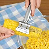 Easy Corn Cutter Stainless Steel Corn Cob Peeler