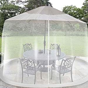Black Shade Netting Mosquito Screen For Outdoor Patio Table