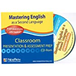 NewPath Learning Mastering English As A Second Language Spanish Interactive Whiteboard CD-ROM, Site License, Grade 1-6