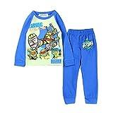 EITC Little Boys' Mutant Ninja Turtles Long Sleeves Pajamas 3/3T Blue