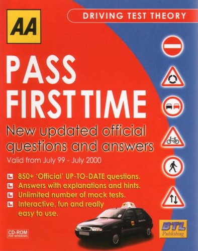 AA Pass First Time Theory Test