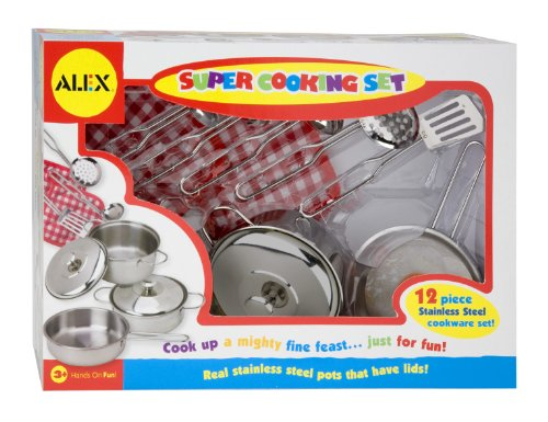 Alex Toys - Pretend & Play, Super Cooking Set, 603N