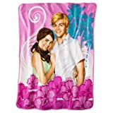 Disney Teen Beach Movie Summer Days Micro Raschel Throw Blanket