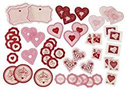 Martha Stewart Crafts Heart And Key Acetate Die-Cuts