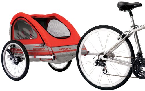 Best Price! Schwinn Trailblazer Double Bicycle Trailer