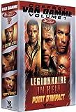 echange, troc Coffret Jean Claude Van Damme N°1 - 3 DVD : Légionnaire / In hell / Point d'impact