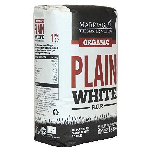 marriages-organic-plain-white-flour-1kg-case-of-6