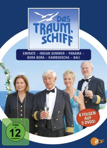 Das Traumschiff 8 (Emirate / Indien Summer / Panama / Bora Bora / Kambotdscha / Bali) [3 DVDs]
