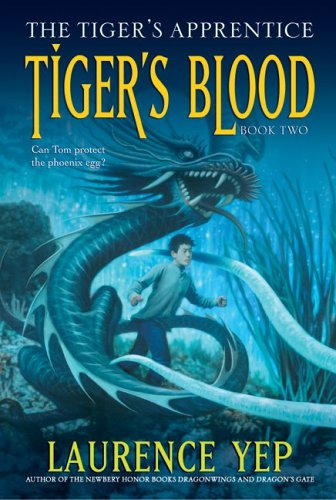 Tiger's Blood: The Tiger's Apprentice, Book Two PDF