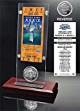 Super Bowl 39 Ticket & Game Coin Collection