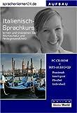 echange, troc Udo Gollub - Sprachenlernen24.de Italienisch-Aufbau-Sprachkurs. CD-ROM für Windows/Linux/Mac OS X + MP3-Audio-CD für Computer /MP3-Player