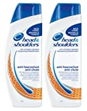 Head & Shoulders Anti-Schuppen Shampoo anti haarverlust, 2er Pack (2 x 500 ml)