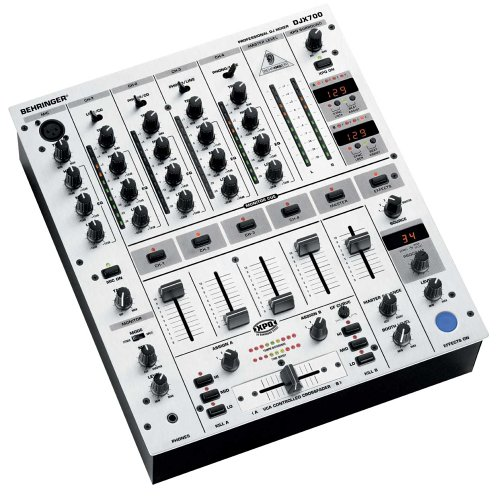 Behringer DJX700 Professional 5-Channel DJ Mixer with Digital Effects and BPM Counter (Behringer Mixer Dj compare prices)