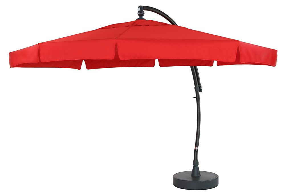 sun garden ampelschirm easy sun parasol oval. Black Bedroom Furniture Sets. Home Design Ideas