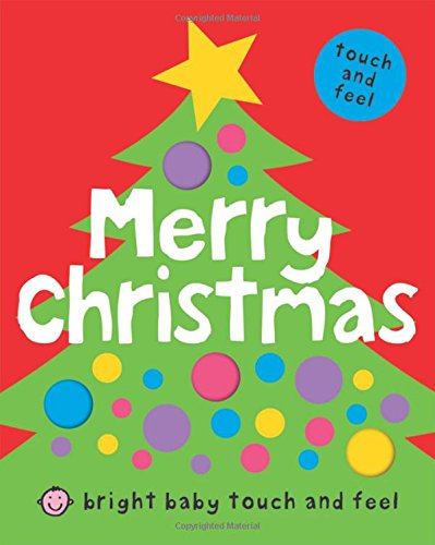 Merry Christmas (Bright Baby Touch and Feel) (Baby Books Canada compare prices)