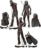 [UK-Import]The Walking Dead TV Series 3 Bloody Black and White Michonne and Pet Zombie Action Figure, 3-Pack