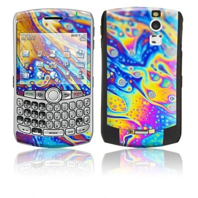 World of Soap Design Protective Skin Decal Sticker for Blackberry Curve 8300/ 8310/ 8320 Cell Phones