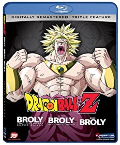 Dragon Ball Z Broly Triple Feature Brolybroly Second Comingbio-broly Blu-ray by Funimation Prod