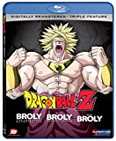 Dragon Ball Z: Broly Triple Feature (Broly/Broly Second Coming/Bio-Broly) [Blu-ray]