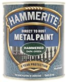 Hammerite 5092823 Hammered Metal Paint 750 ml - Deep Green