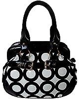 FASH Chic Mod Circle Bowler Hobo Handbag