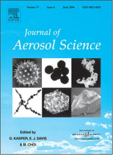Collection efficiency of a woven filter made of multifiber yarn: [An article from: Journal of Aerosol Science]