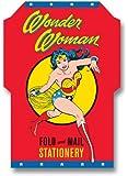 Wonder Woman Fold and Mail Stationery