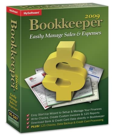 Bookkeeper 2009 Compatible With Windows 7 XP And Vista