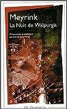 echange, troc Gustav Meyrink - La Nuit de Walpurgis
