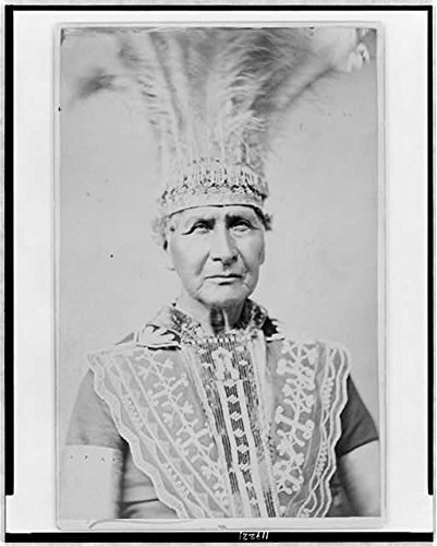Photo: Original Gala-Day costume of the Penobscot tribe,c1884,Indians of North America