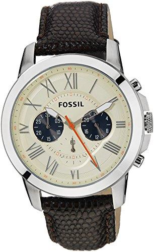 d19fa99a58ec Fossil FS5021 - Reloj con correa de cuero