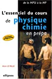 L'essentiel du cours de physique-chimie en prpa