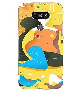 Axes Premium Designer Back Cover for LG G5 (-d1444